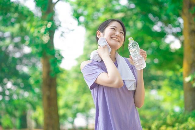 有酸素運動は早朝にやっている人を見かける