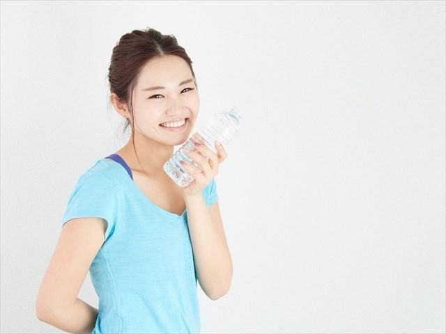 運動と水分補給はセットで